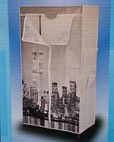 Шкаф – гардероб «CITY STYLE» с карманами.