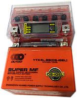 Аккумулятор 12V 4А  OUTDO YT4L-BS (DS-iGEL)