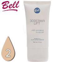 Bell - Derma Lift 30+ Флюид маскирующий с комплексом лифтинга Тон 02 sand, песочный