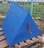 Крышка для колодца (диаметр кольца 1 м) синий глянец