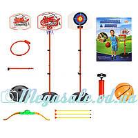 Детский баскетбольный набор 2в1 Basketball&Arrow: баскетбол + мишень с луком