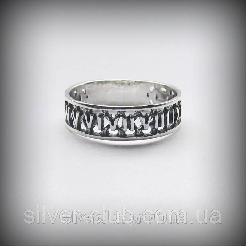2f6a6cf4a608 1001 Серебряное кольцо Время - Интернет-магазин серебряных изделий от  украинского производителя Silverclub в Харькове