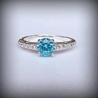 1012 кольцо серебряное Принцесса