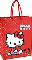 Пакет подарочный Kite Hello Kitty 24х18х7 см пластиковый HK13-204-1K