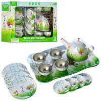 Металлическая детская посудка 555-CH015