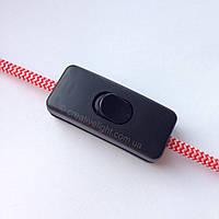 Выключатель для бра (черный)