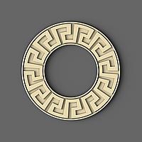 Рама круглая из ясеня для зеркала