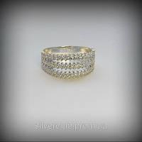 1007 Серебряное колечко Радуга 925 пробы от украинского производителя