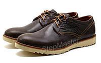 Туфли мужские спортивные Levis Desert коричневые