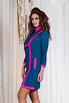 ДТ1115 Платье с яркой отделкой, фото 3