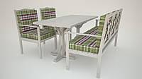 Кованая мебель для сада - непромокаемые подушки.