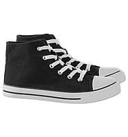 Высокие кеды на шнурках C&A для мальчиков и девочек, размер 31, 32, 33
