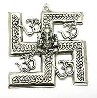 Ганеша с символом солнца (16х14,5х см)(Непал)