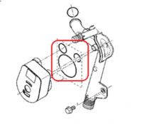 Прокладки масляного радиатора (теплообменника) 3 шт. DUSTER 1.5DCI оригинал.