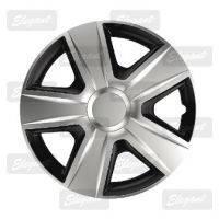 Колпаки колесные Esprit silver&black(к-т 4шт.) R13,R14,R15,R16.
