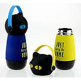 Термос Кіт у навушниках, 4 кольори, фото 4