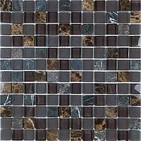 Мозаика из натурального камня и стекла Vivacer SIN mix02