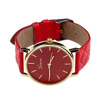 """Женские часы наручные """"Geneva classic"""" красные"""
