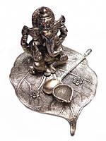 Фигура алтарная Ганеш Пуджа силумин