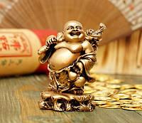 Хотей с корнем Жень Шеня под бронзу