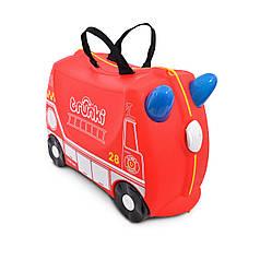 Детский чемоданчик на колесах TRUNKI FRANK FIRE TRUCK