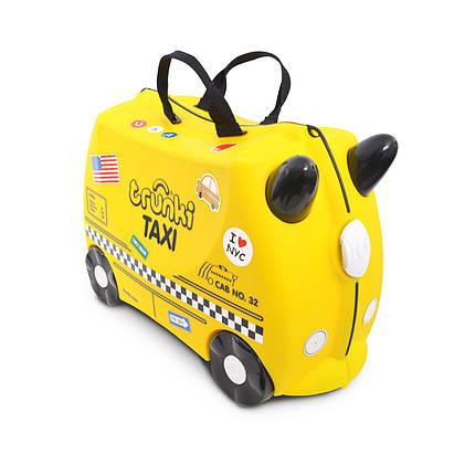 Детский чемоданчик на колесах TRUNKI TONY THE TAXI , фото 2