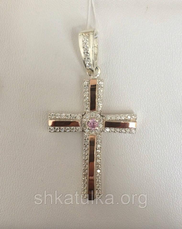 Серебряный крест №К-4н