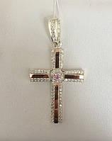 Серебряный крест №К-4н, фото 1