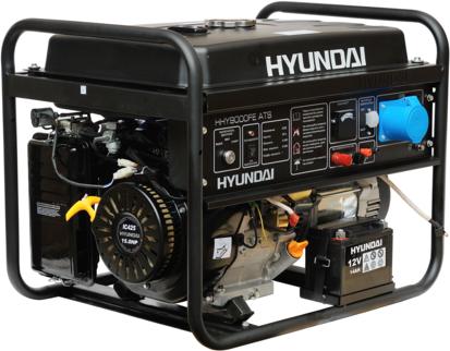Генератор Hyundai HHY 9000FE ATS