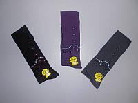 Красивые детские колготки для девочек с рисунком ТМ KBS р.7 (122-128 см)