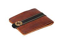 Кожаный кошелек ручной работы Gato Negro Zeta-Clip мужской, коричневый (мужские кошельки из натуральной кожи)
