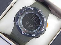 Мужские (женские) спортивные наручные часы Skmei болотного цвета