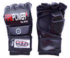 Перчатки MMA Firepower MGA2 Черные, фото 4