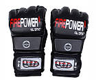 Перчатки MMA Firepower MGA2 Черные, фото 5