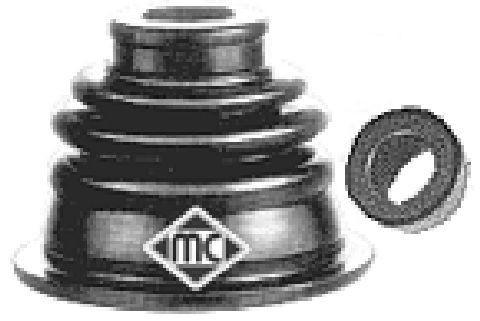 Пыльник ШРУСа (внутренний левый) на Renault Trafic 2003-> 2.5dCi (135л.с.) — Metalcaucho - MC02304