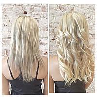 Наростити волосся в Києві недорого капсулами або іншим методом. Записатися на процедуру.