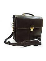 Портфель Katana кожаный мужской коричневый 34206