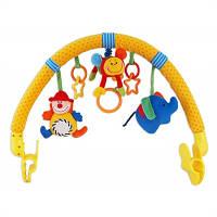 Развивающая дуга на коляску Baby Mix Клоун TE-8215-94