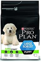 Purina Pro Plan Puppy LARGE Robust 3 кг -для щенков крупных пород с курицей