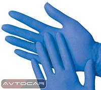 Перчатки нитриловые Permatex / цвет: синий
