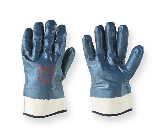Перчатки рабочие БМС-КЩС, бензомаслостойкие - кислотнощелочные
