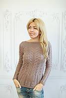 Кофта женская стильная осень-зима джемпер
