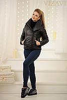 Женская короткая теплая куртка в трех цветах. Материал плотная плащевка,150 синтепон. Размер 42-46