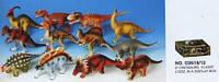 """Динозавр Гонконг D2619 резин. 6"""", 12 в., 24 шт. в кор., ш.к./12/288/"""
