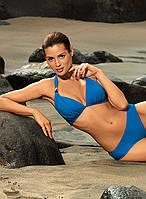 Раздельный синий женский купальник бикини Marko