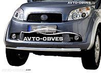 Защита переднего бампера для Daihatsu Terios  одинарный ус