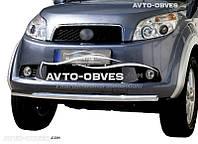 Защита переднего бампера для Daihatsu Terios  одинарный ус (п.к. V001)
