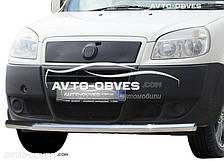 Защитная дуга переднего бампера Фиат Добло (п.к. V001)