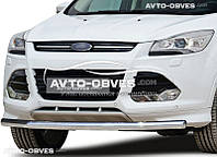 Защита бампера для Ford Kuga 2013-2016 одинарная от ИМ Автообвес (п.к. V001)