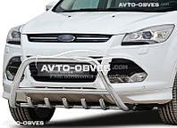 Кенгурятник защитный для Ford Kuga 2013-2016 нержавейка